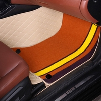 Car floor mats for Honda Jade City CRV CR V Accord Crosstour HRV HR V Vezel Civic 5D car styling carpet floor liners