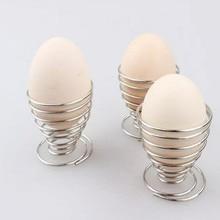 Прочный кухонный для завтрака вареный металлический держатель для яиц инструменты для яиц