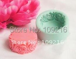 1 шт. розовое кружево(R0140) силиконовые формы для мыла ручной работы поделки DIY Плесень