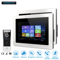 HOMSECUR 7 Hands free Video Door Entry Security Intercom with Dual way Intercom