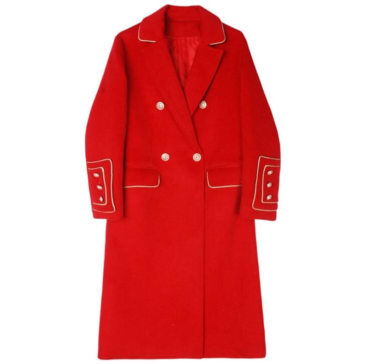Caliente Otoño 2018 Diseño Abrigo Lana Outwear Invierno Largo De Red PP1x8taqw