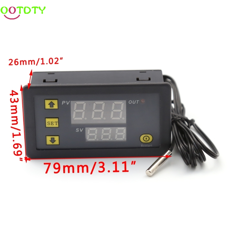 все цены на  10A 12V LCD Digital Temperature Controller Temp Sensor Thermostat Control Relay  828 Promotion  онлайн