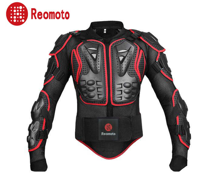 Moto chaqueta moto rcycle de armadura bicicleta moto Cruz ropa traje de carrera protección moto rcycle chaquetas protección completa del cuerpo