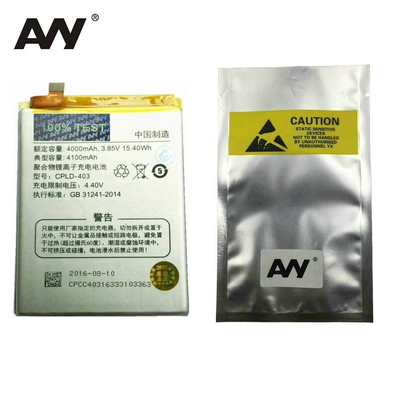 AVY Batterie Pour LeEco Letv le3 Le 3 LeRee & Coolpad frais 1 Double Pro Mobile téléphone Rechargeable Li-ion Batteries 4000 mAh