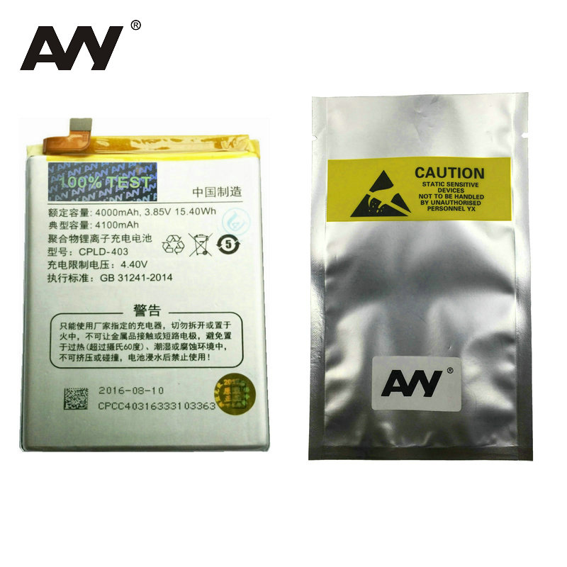 AVY Battery For LeEco Letv le3 Le 3 LeRee & Coolpad cool 1 Dual Pro Mobile phone Rechargeable Li-ion Batteries 4000mAh