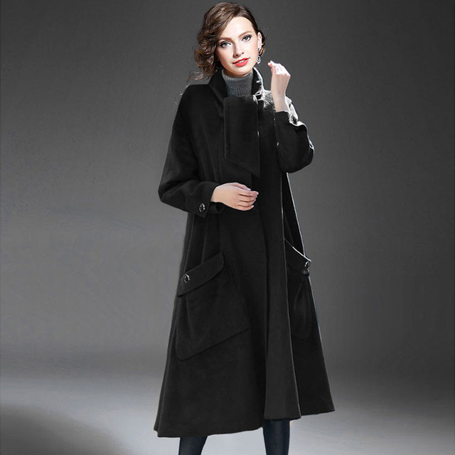 Autumn Winter women's trench outerwear women's jacket maternity jacket trench Pregnant clothing coat European Style dress 16873