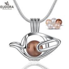 Eudora жемчужный чайник ожерелье полый натуральный пресноводный