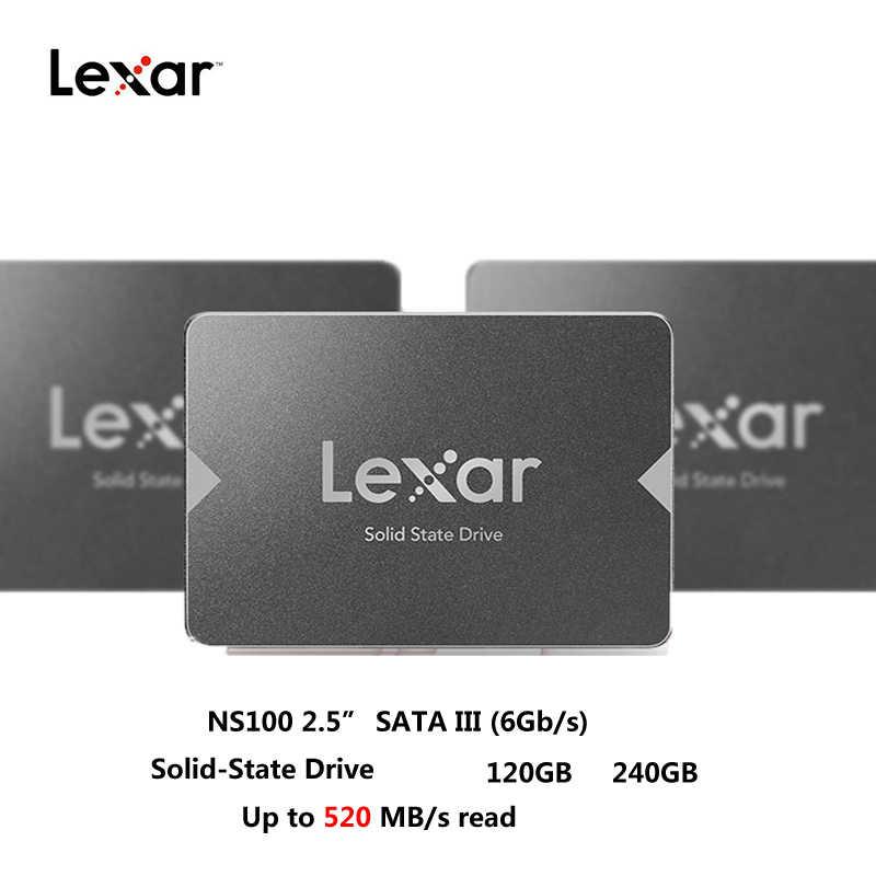 LeXar NL100 SATA SSD 240 GB 256 GB 512 GB HD SSD dysk twardy HDD 2.5 dysk twardy SSD SATA 128 GB dysk ssd do laptopa