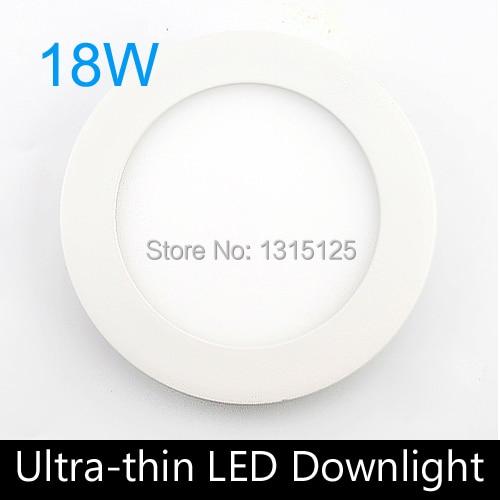 2pc 18W led lumina panou 1800lm rotunjit condus tavan / durere lumina - Iluminat cu LED