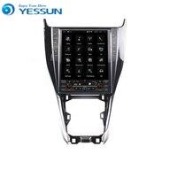 Yessun Android автомобильный навигатор gps для Toyota Harrier большой экран HD сенсорный экран мультимедийный стерео плеер аудио видео радио.