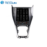 Yessun Android Car Navigation GPS For Toyota Harrier Big Screen HD Touch Screen Multimedia Stereo Player Audio Video Radio.