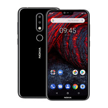 NOKIA X6 4G B Оперативная память 6 4G B Встроенная память Snapdragon 636 1,8 ГГц Octa Core 5,8 дюймов FHD + Экран двойной Камера Android 8,1 4G LTE смартфон