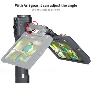 Image 3 - AgimbalGear DH11 All in 1 Dji Ronin S Extend Magic Arm for Monitor LED Video Light Gimbal Mount Adapter with Arri Cold Shoe