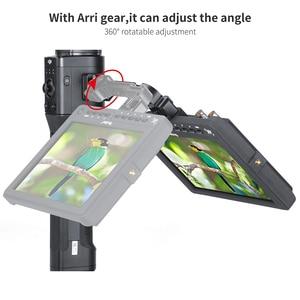 Image 3 - AgimbalGear DH11 tout en 1 Dji Ronin S étendre le bras magique pour moniteur LED lumière vidéo adaptateur de montage de cardan avec chaussure froide Arri