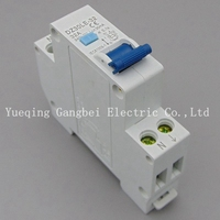 18MM RCBO 32A 1P N Residual Current Circuit Breaker With Over Current And Leakage Protection 30mA