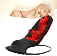Высокое качество Детские Колыбели без электрическая кресло качалка для младенцев свет Вес детские качели мягкая баланс Тип детские кроват