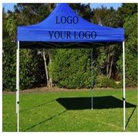 10x10ft логотип печать все COOLOR открытый раскладная беседка садовый навес палатка водостойкая Складная Свадебная палатка навес синий