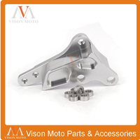 CNC 320MM Brake Disc Adapter Bracket 4 Pot Caliper For Husqvarna TE TC FE FC 125 250 300 350 450 501CC 2014 2015 SM