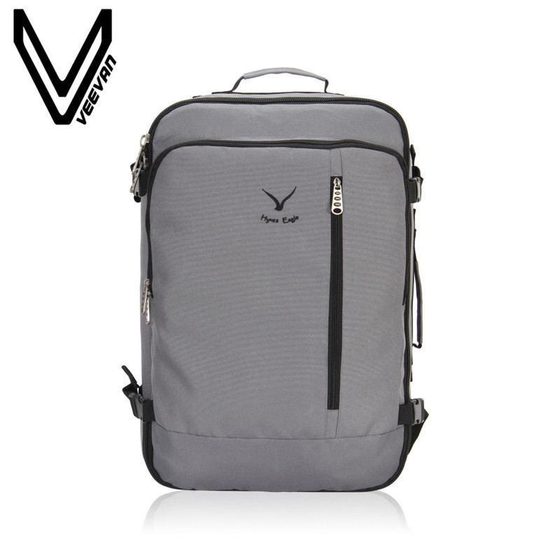 VEEVANV Brand 2017 Canvas Men's Backpack Bag Brand 14.1Inch Laptop Notebook Mochila for Men Waterproof Back Pack school backpack men s backpack business travel bag 15 inch laptop notebook mochila for men women waterproof back pack school backpack bag