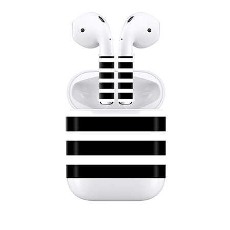 2018 projektowanie niestandardowe Vinyl Wrap słuchawki douszne słuchawki dla skórki AirPod ochronna kalkomania wodoodporna odporna na zarysowania słuchawki