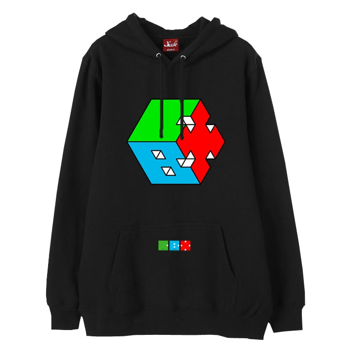 Kpop exo cbx hey mama printing fleece pullover hoodies fashion winter  autumn thick loose sweatshirt unisex 66ebe840482c