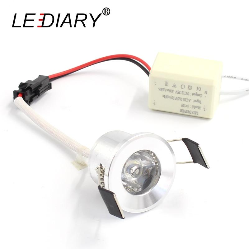 LEDIARY Mini Spot жарық диодты төбесі төменгі - Ішкі жарықтандыру - фото 3