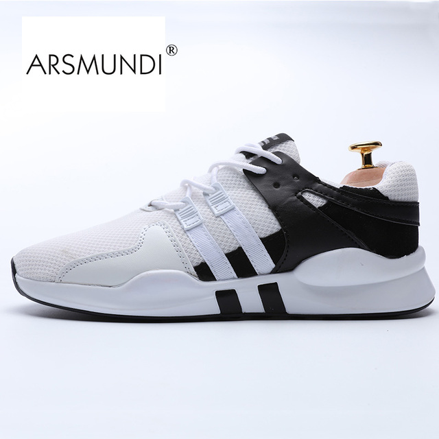 ARSMUNDI Original Men Running Shoes 87 716 1 Fall 2017 PU Air Mesh Rubber Breathable Light Running Shoe Sport Men mesh Shoes Men in Running Shoes from