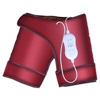 Электрическое отопление Вибрационный Шорты для женщин бедра пояс массажер прижигание массаж живота Утепленная одежда Здоровье и гигиена н