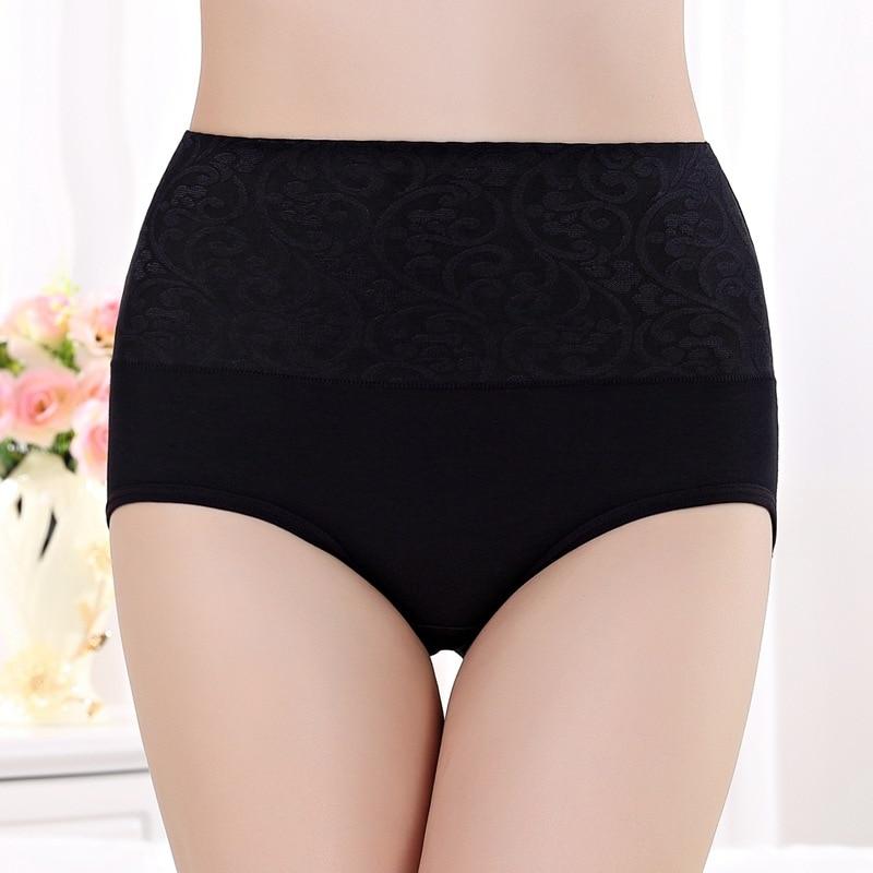 PRTYWB Hot Sale Underware Women Briefs Hip Abdomen Underpants Women Sexy Cotton Panties Cute Body Shaper Knickers Plus Size