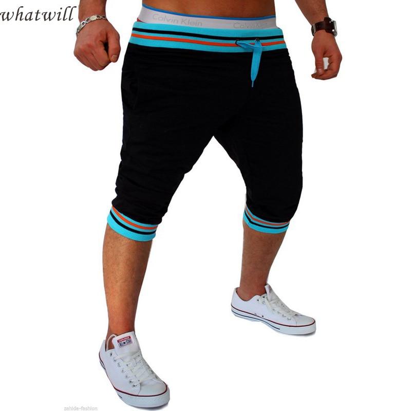 summer style fashion 2016 mens shorts cargo hip hop casual short loose jogger men