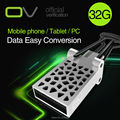 Original OV Ultra Dual OTG 32GB 16GB 8GB USB 2.0 Flash Drive 32G Support 0fficial Verification for Smartphone Phone and Computer