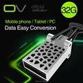 Original ov ultra dual otg 32 gb 16 gb 8 gb usb 2.0 Unidad Flash 32G Apoyo 0 fficial Verificación para Smartphone Del Teléfono y equipo