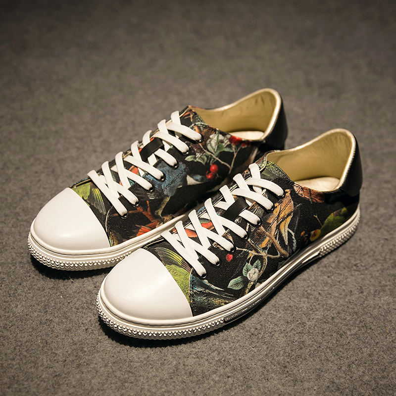 Подробнее о New Mens Breathable High Quality Casual Shoes Jeans Canvas Casual Shoes Lace Up Men Fashion Flats Printing Shoes new fashion 2017 breathable canvas mens shoes lace up solid flats spring autumn outdoor casual denim canvas shoes for men yogcu