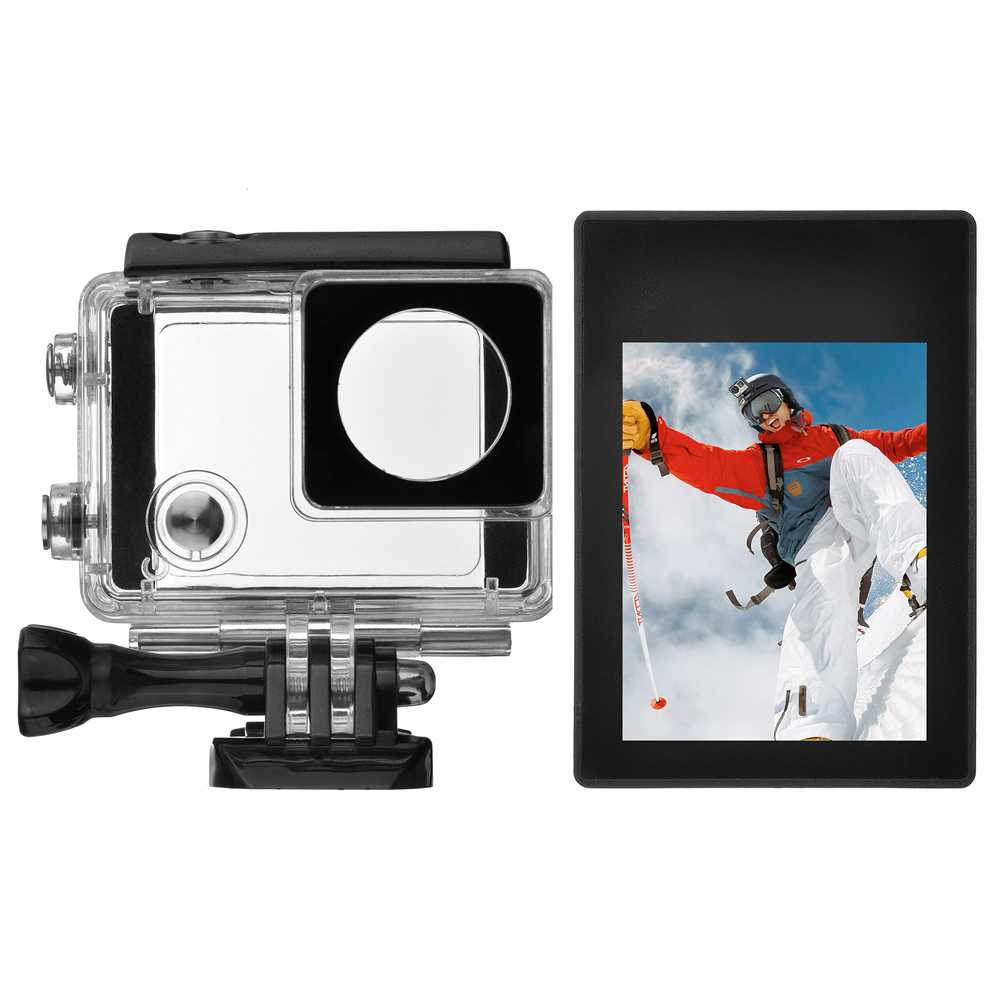 SHOOT 2 0 inch Non touchable LCD Display Screen for Gopro Hero 4 3 Action Camera