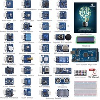 SunFounder Ultimate Mega 2560 Sensor Kit V2.0 for Arduino UNO R3 Mega2560 Mega328 Nano