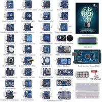 SunFounder Ultimate Mega 2560 Sensor Kit V2 0 For Arduino UNO R3 Mega2560 Mega328 Nano