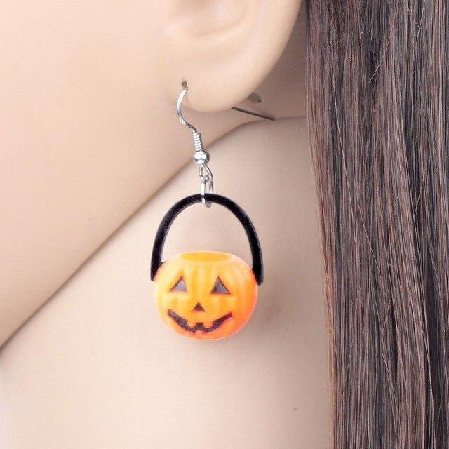 Adorable Pumpkin Earrings 2.5 x 1.9 cm 3