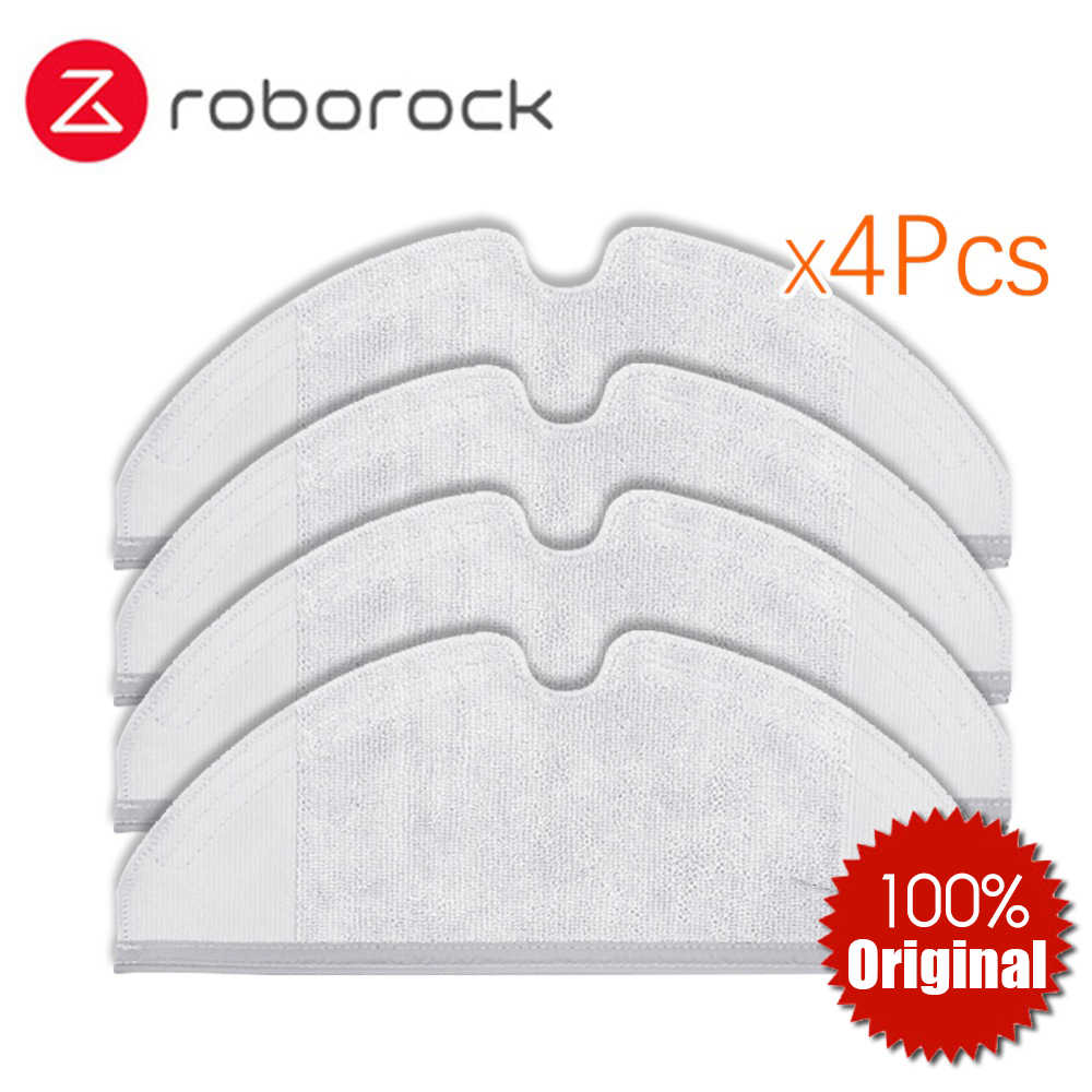 2pcs Pro-Clean Mopping Cloths For Xiaomi Roborock Replacement Vacuum Cleaner Mop