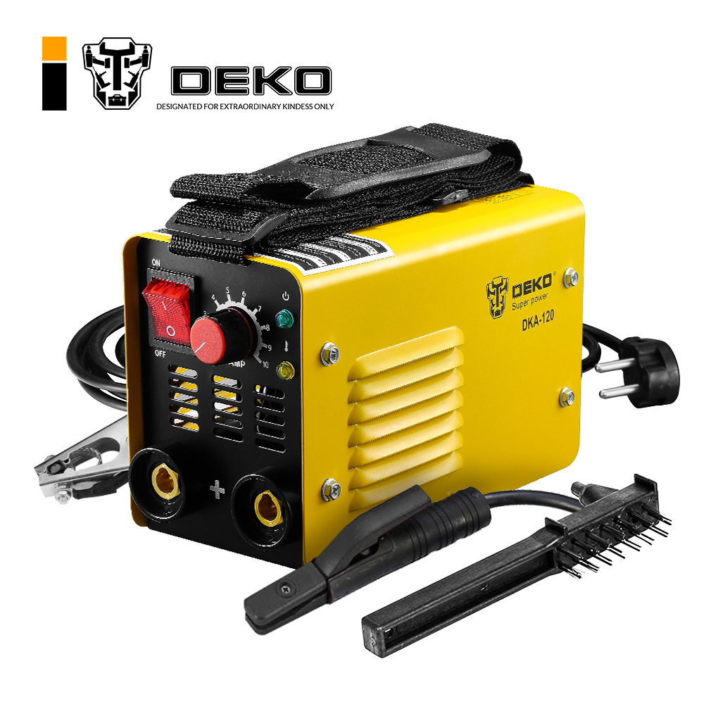DEKO DKA-120 120A 4.1KVA IP21S Inverter Arc Electric Welding Machine MMA Welder for Welding Working and Electric Working
