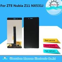 M Sen For 5 5 ZTE Nubia Z11 NX531J Lcd Screen Display Touch Panel Digitizer White
