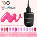 Sweet Pink Color Gel Polish 80ml the Gel - Lucky Blinkingel Nail Polish Gel Vernis a Ongle Smalto Semi Permanente Unghie