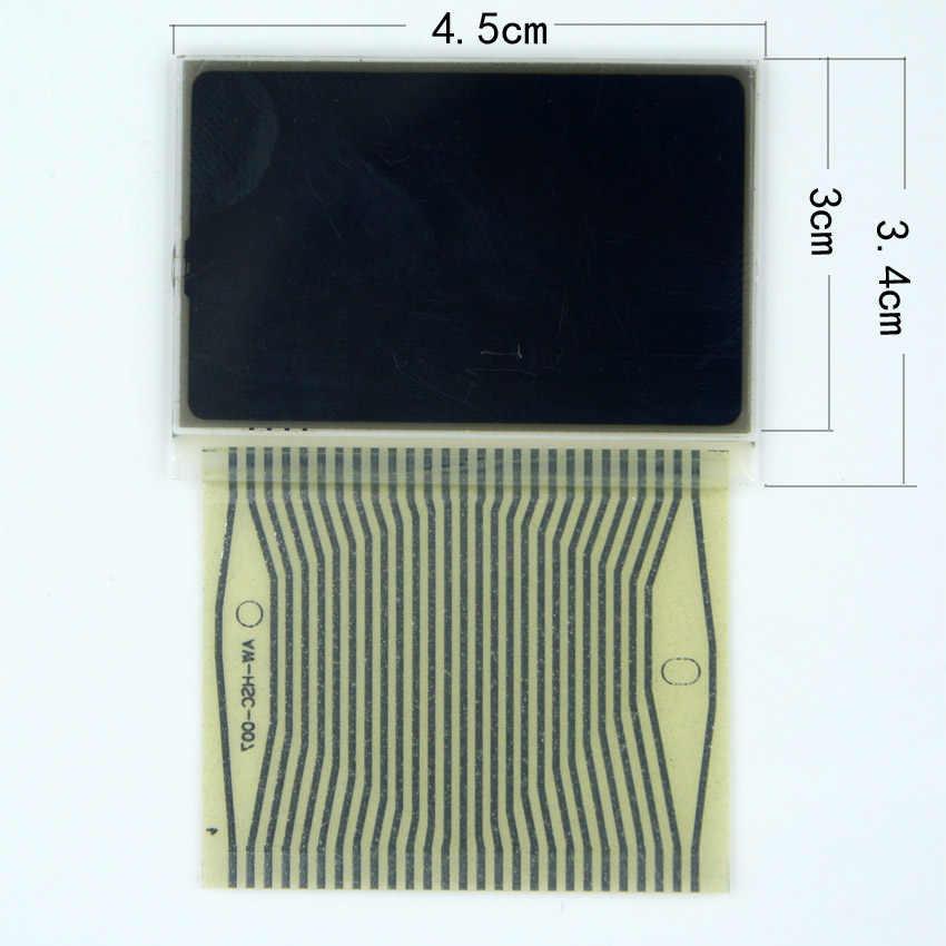 3 pièces pour Mercedes W210 E320 E430 VDO Instrument moyen droite gauche écran d'affichage LCD avec câble de réparation Pixel ruban pour Benz