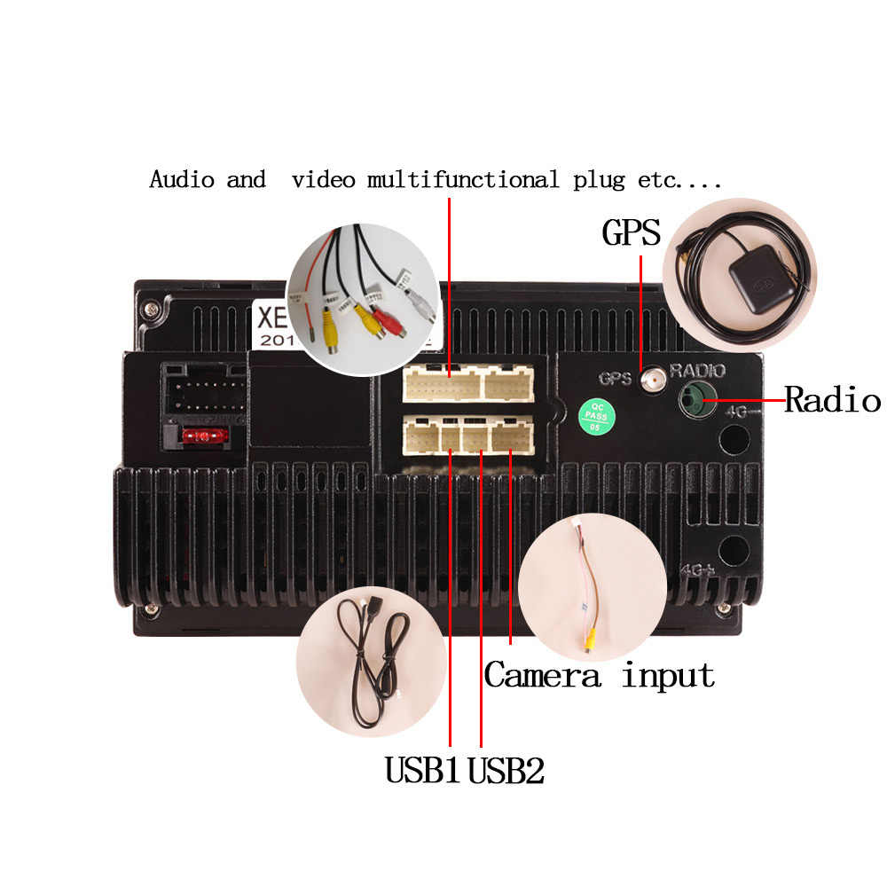 SZBULOAI Android8.1 2 喧騒車のラジオマルチメディアビデオプレーヤーユニバーサルオート gps 地図フォルクスワーゲン日産現代起亜 toyata CR-V
