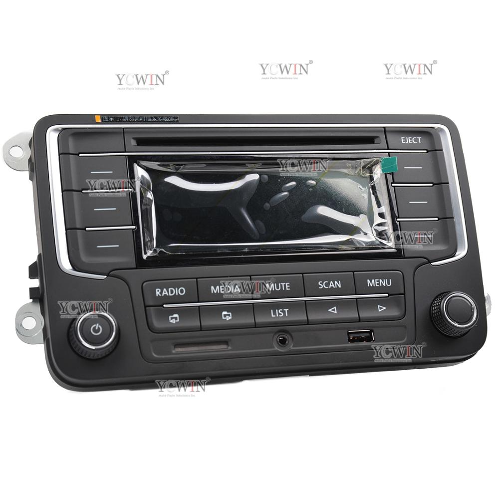 hight resolution of 3ad 035 185 rcd 510 car radio mp3 player usb aux sd card for vw golf