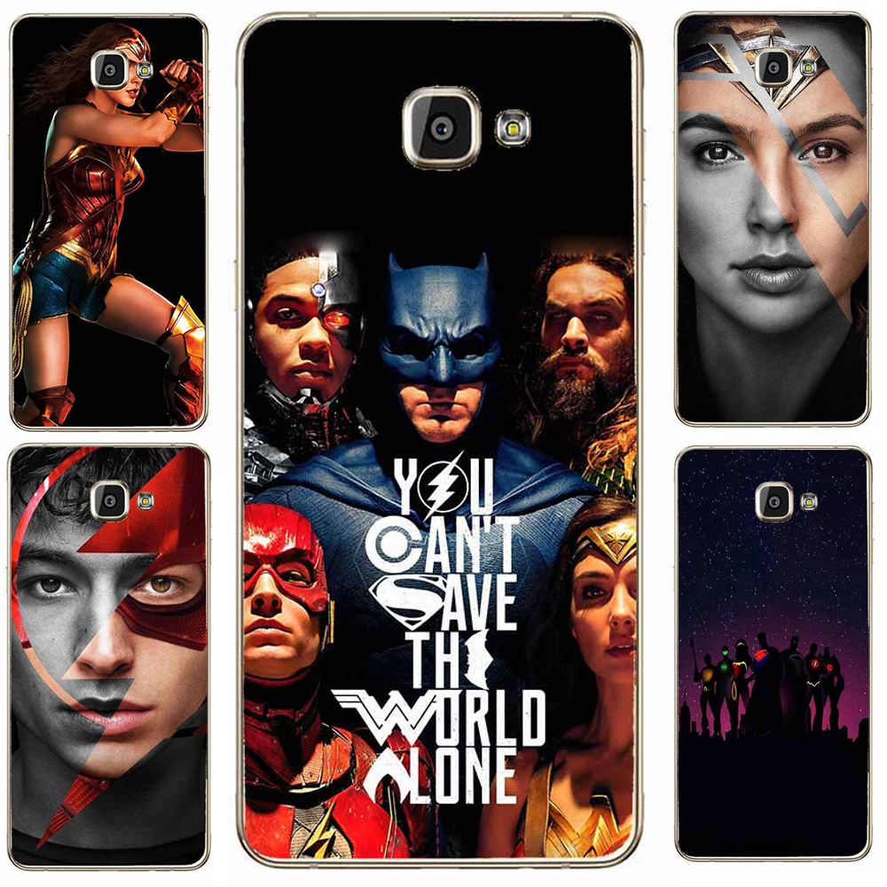 Чехол для Samsung Galaxy J1 J7 J5 2016 S5 S8 плюс S6 S7 края телефон чехол Бэтмен вспышки Wonder Woman супермен Мягкие TPU Защитите милые