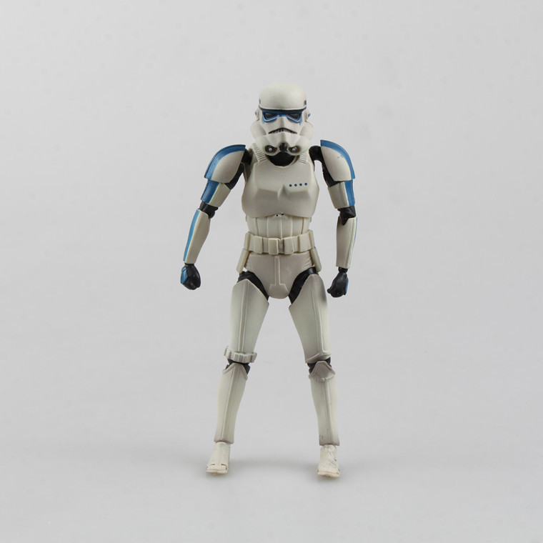 18cm Star Wars Stormtrooper Action Figure Stormtrooper Doll Movable Joints PVC Figure Toy Brinquedos Anime Collect Gift star wars taiko yaku stormtrooper 1 8 scale painted variant stormtrooper pvc action figure collectible model toy 17cm kt3256