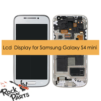 Original Lcd Display With Touchscreen Digitizer Assembly And Frame For Samsung Galaxy S4 Mini Gt i9190 Gt i9192 Gt i9195