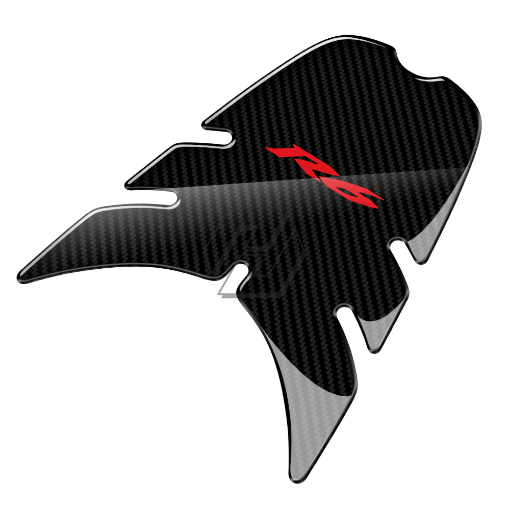 3D Motorcycle Front Gas Fuel Tank Cover Protector Tank Pad Case for Yamaha YZF R6 R6 2006 2007 in Decals Stickers from Automobiles Motorcycles