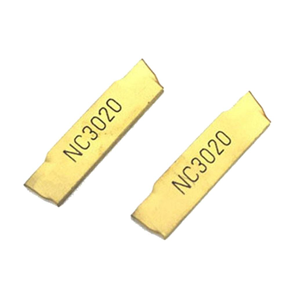ZIMING-1 10pcs MGMN200-G NC3020 CNC Carbide Inserts tools