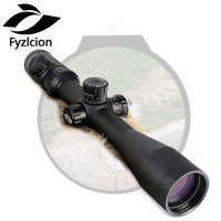 Hunting Shooting Rifle Scope 4 16X44 Optical Sight P4 Glass Etched Reticle Riflescopes Side Parallax Adjustment